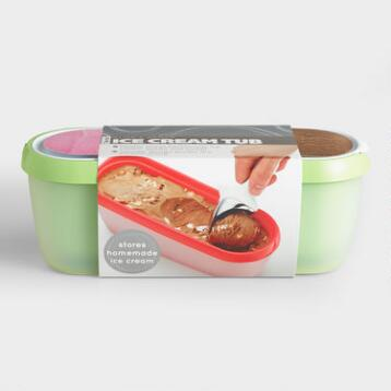 Green Tovolo Glide-A-Scoop Ice Cream Tub